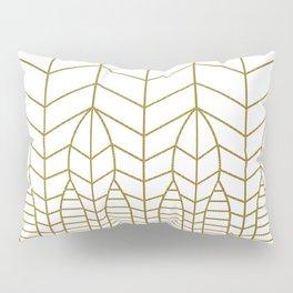 ART DECO IN WHITE Pillow Sham