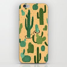 The Snake, The Cactus and The Desert iPhone & iPod Skin