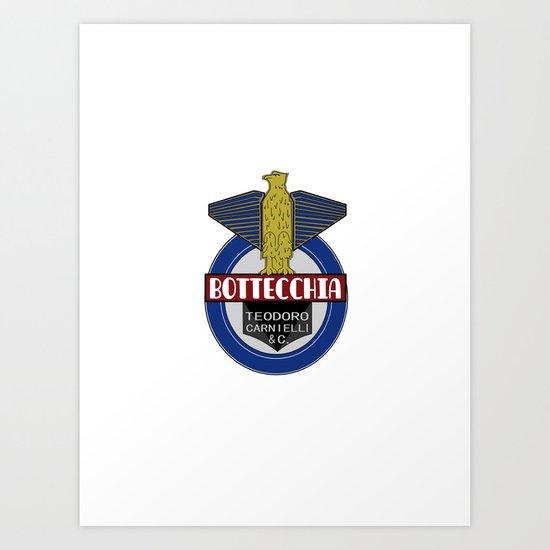 Bottecchia Bicycle Logo Art Print