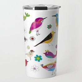 Birds pattern Travel Mug