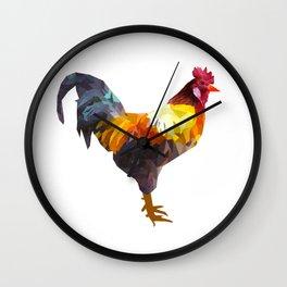 El Gallo 2 Wall Clock