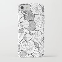 tapestry iPhone & iPod Cases featuring Tapestry by Madame Mim