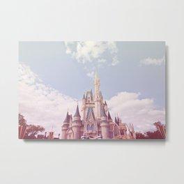 Pastel Castle Metal Print