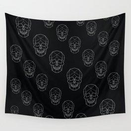 Skull Aesthetics Pattern Wall Tapestry