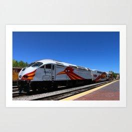 New Mexico Rail Runner Art Print