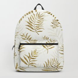 Gold Autumn Leaves Backpack