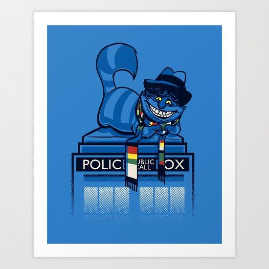 The Cheshire Doctor Art Print