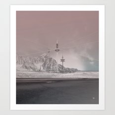 atmosphere 11 · The lost signal Art Print