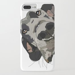 I Wuf You - Great Dane iPhone Case