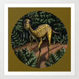 Plant Eater Art Print