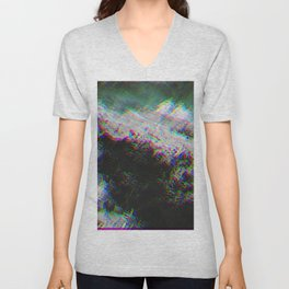 Oceanic Glitches - Oldest Waves Unisex V-Neck