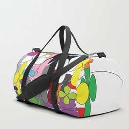 FLORAL ABSTRACT Duffle Bag