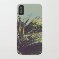 Palm Tree iPhone X Slim Case