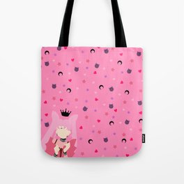 The Queen of Darkness Tote Bag