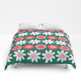 Peggy Green Comforters