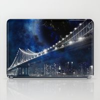 new york city iPad Cases featuring New!! New York City by Simone Gatterwe