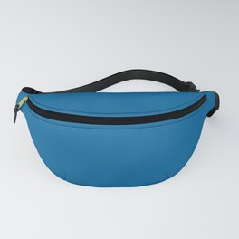 Nobility Solid Color Block Fanny Pack