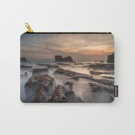 Melasti beach at sunset, Tanah Lot, Bali, Indonesia Carry-All Pouch