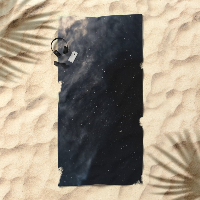 Melancholy Beach Towel