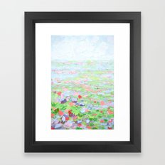 September Fields Framed Art Print
