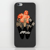wrestling iPhone & iPod Skins featuring Attitude Wrestling  by RJ Artworks