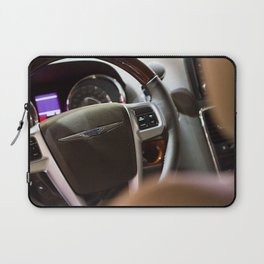 Chrysler Town & Country Limited Steering Wheel and Panel Laptop Sleeve