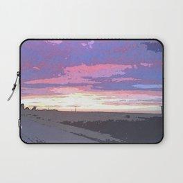 The Sun Setting Over I-40W Laptop Sleeve