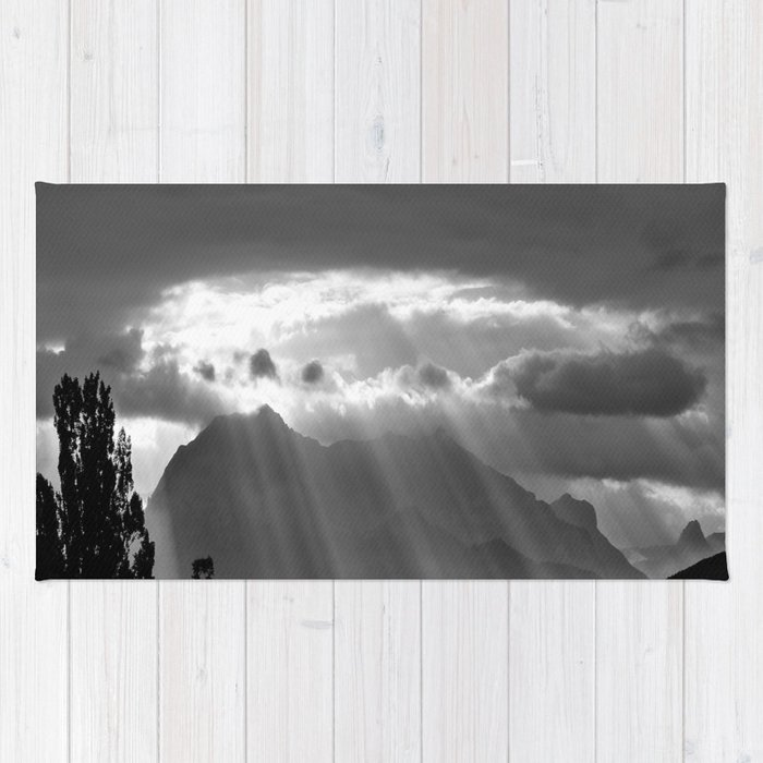 Rays From The Sky Rug