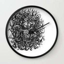 Hear Me Roar Wall Clock