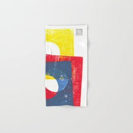 Basic in red, yellow and blue Hand & Bath Towel