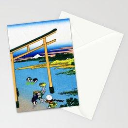 12,000pixel-500dpi - Mt,FUJI36view-Nobotonoura - Katsushika Hokusai Stationery Cards