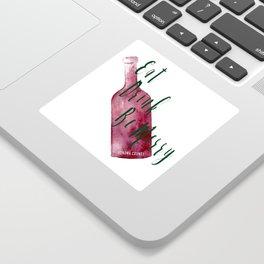 Eat Drink Be Merry Sticker