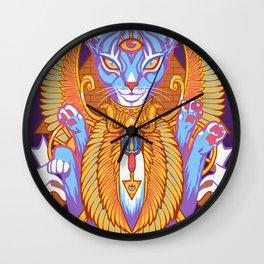 IN FELIS CONFIDIMUS Wall Clock