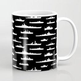 Battleship // Black Coffee Mug