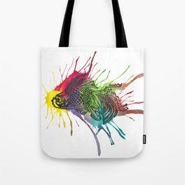 Fish - Rainbow Tote Bag