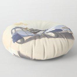 Freedom Drive Floor Pillow