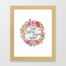 Fucking versatile Framed Art Print