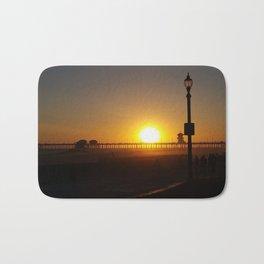 Huntington Beach Sunset 6 Bath Mat