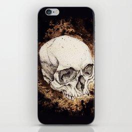 Skull Study No.6 (aka - Barrie) iPhone Skin