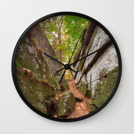Gettysburg Grotto Wall Clock