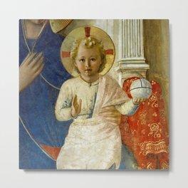 "Fra Angelico (Guido di Pietro) ""Sacred Conversation"" detail Metal Print"