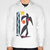 matisse Hoodies featuring inspired to Matisse (black) by Chicca Besso