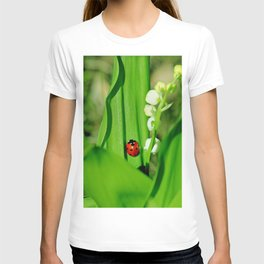 The Ladybug and Lily of the valley T-shirt