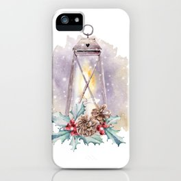 HOLLY JOLLY iPhone Case