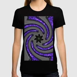 """""""the Thing that makes the Waves : Indigo T-shirt"""