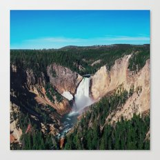 Yellowstone x Lower Falls Canvas Print