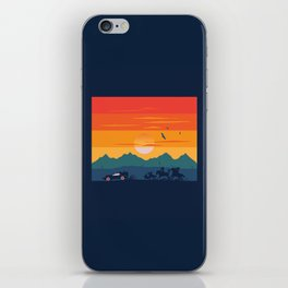 Back to the Wild West iPhone Skin