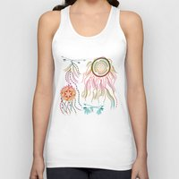 dream catcher Tank Tops featuring Dream Catcher by famenxt