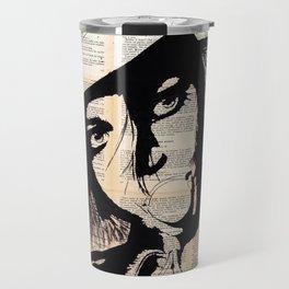 Bubble gum - ink painting Travel Mug