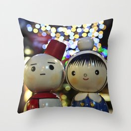 Snow one loves you like I do.  Throw Pillow